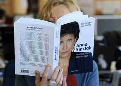 Anne Sinclair, 'Woman of the Year' (AFP)
