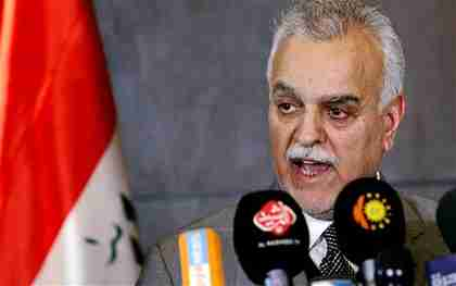 Tareq al-Hashemi on Tuesday (Reuters)