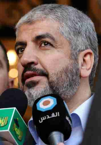 Hamas chief Khaled Meshaal (AFP)