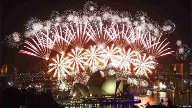 New Year in Sydney (Reuters)