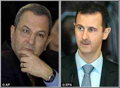Ehud Barak and Bashar al-Assad