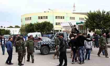 Libyan gunmen in Tripoli (AFP)