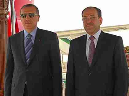 Erdogan and al-Maliki
