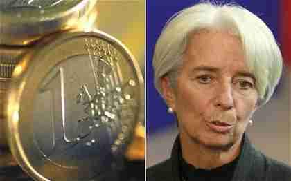 IMF director Christine Lagarde calls on Europe to save the euro (EPA/AP)