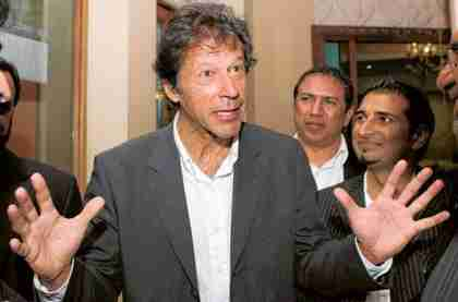 Imran Khan on Sunday