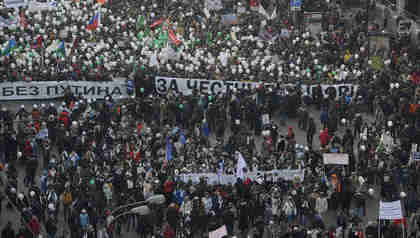 Anti-Putin march in Moscow on Saturday