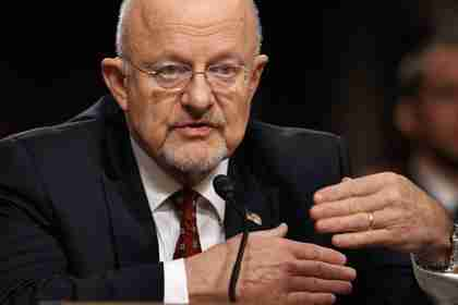 James R. Clapper on Thursday (Getty)