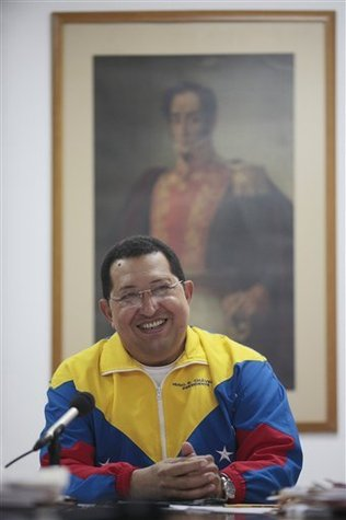 Hugo Chávez in Cuba last week