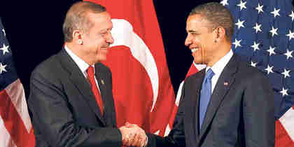 Erdogan and Obama meeting in Seoul on Sunday (AA)
