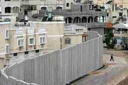 Israel's security fence in Bethlehem