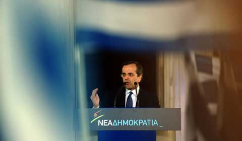 New Democracy candidate Antonis Samaras is expected to win, but he'll have to compromise with the far left and far right (Kathimerini)