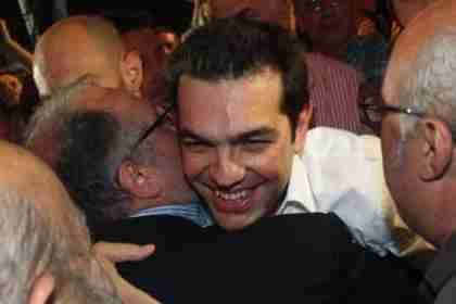 Alexis Tsipras, 38, whose Coalition of the Radical Left (SYRIZA) took second place in a surprise on Sunday (Kathimerini)