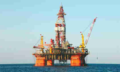 The Haiyangshiyou 981 semi-submersible deepwater rig, developed and built by China State Shipbuilding Corp (Xinhua)