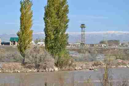 Kyrgyzstan-Kazakhstan border (Jamestown)