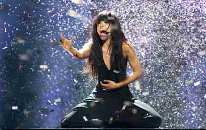 Loreen, singing 'Euphoria' in Eurovision (Reuters)