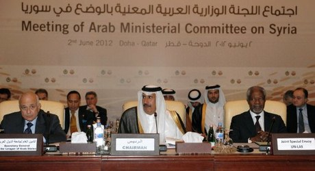 Arab League meeting in Doha on Saturday