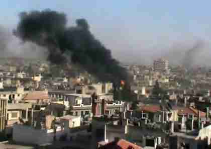 Al-Assad regime attacks residential neighborhoods in Homs, Syria (AFP)