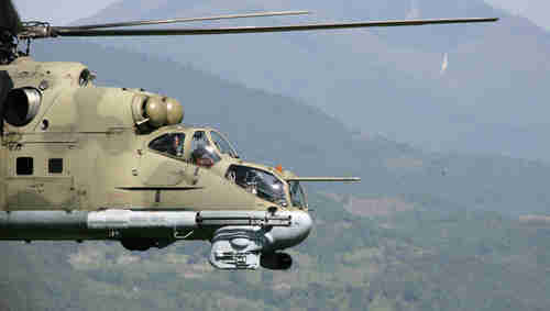 Russia will deliver Mi-25 gunships to Syria on time