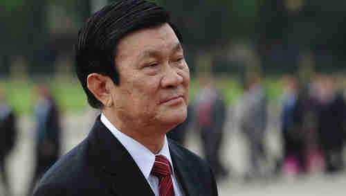 Vietnam's President Truong Tan Sang (AFP)