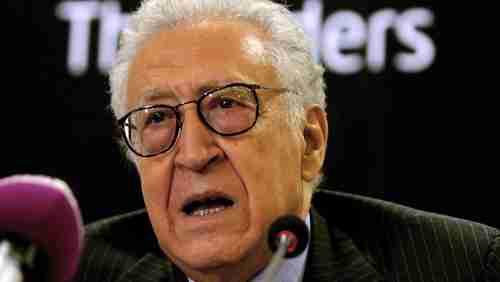 Lakhdar Brahimi (AFP)