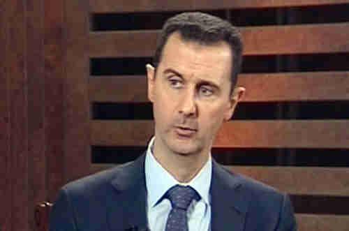 Bashar al-Assad on Wednesday