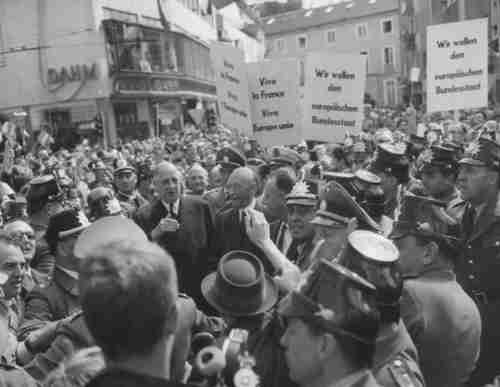 Charles de Gaulle in Germany, 1962