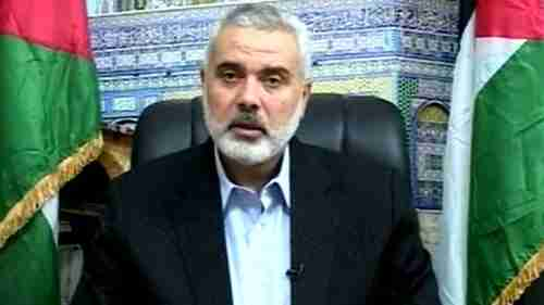 Hamas Prime Minister Ismail Haniyeh on Thursday