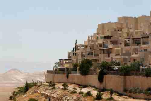 Jewish settlements in West Bank near Jerusalem (Reuters)