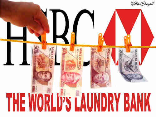 HSBC - The World's Laundry Bank (ZeroHedge)
