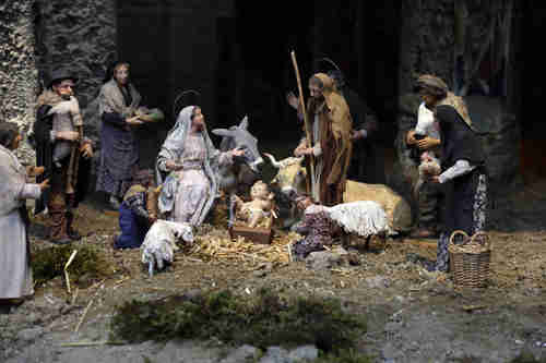 Vatican Nativity scene, by Francesco Artese