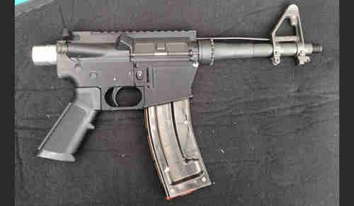 Supposedly the world's first 3D-printed gun