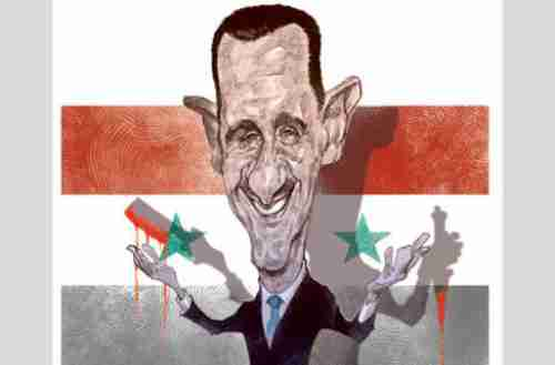 Bashar al-Assad, the sleaziest and most disgusting politician on the planet, worthy of a sewer (Gulf News)