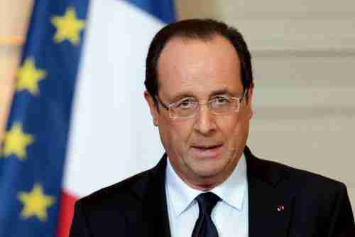 Fran�ois Hollande on French television on Friday (AFP)