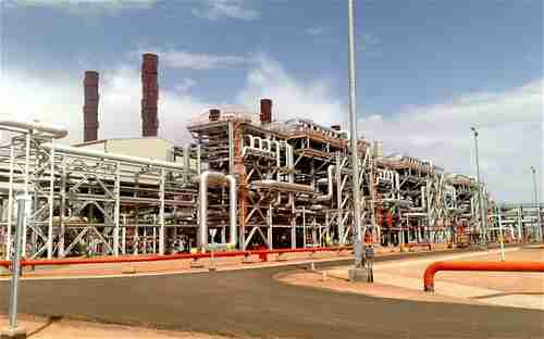 'In Amenas' gas facility in Algeria, where militants are holding hostages