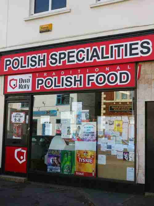 Polish food store in London (Getty)