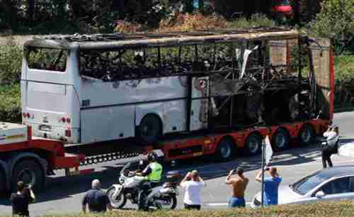 Burgas Bulgaria bus bombing, July 19, 2012