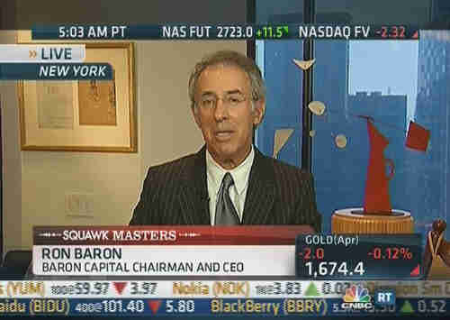 Ron Baron, Baron Capital (CNBC)