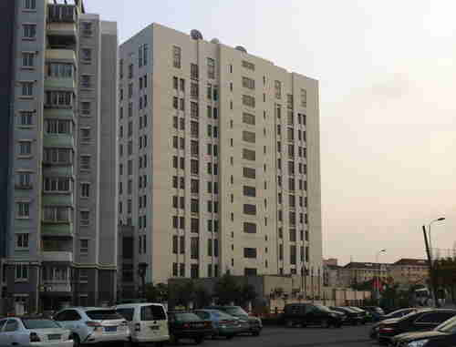 The building in Shanghai housing People's Liberation Army Unit 61398