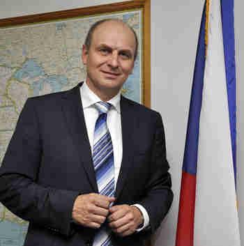 Czech Ambassador Petr Gandalovic