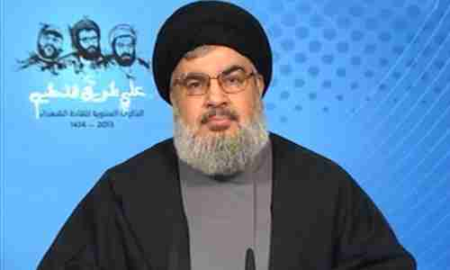 Hezbollah leader Nasrallah in televised speech on Saturday