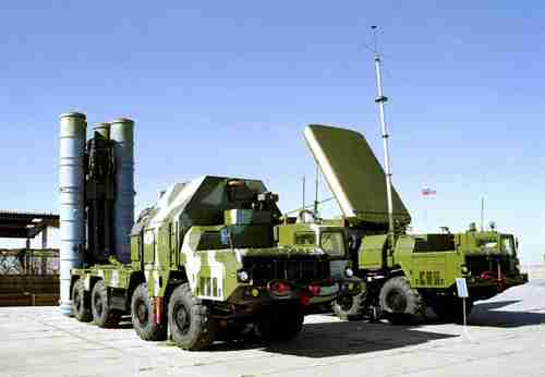 Russia's S-300 anti-aircraft missile systems (AP)