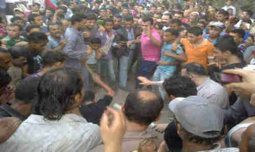 Angry mob beats a Shia in Giza on Sunday (Al-Ahram)