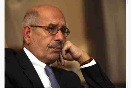 Mohammed ElBaradei, who was appointed Egypt's PM on Saturday, and then fired (AP)