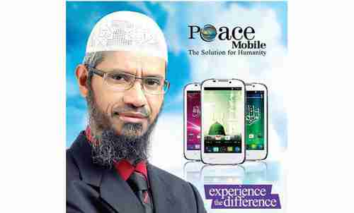 Ad for 'Peace Mobile'