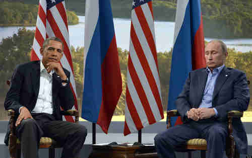 Obama and Putin in June