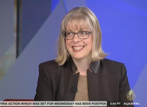 Columbia University Political Science Professor Kimberly Marten