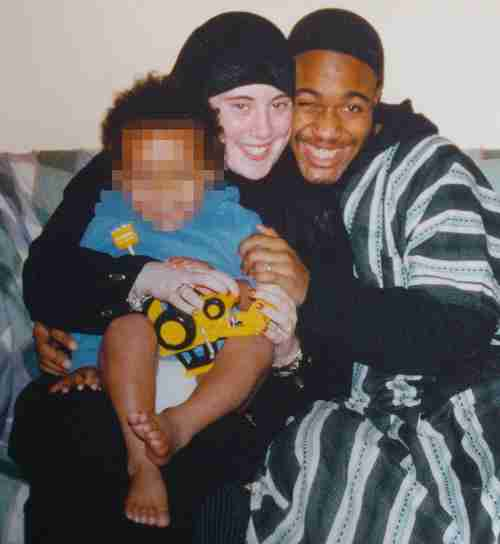 Samantha Lewthwaite and her husband, suicide bomber Jermaine Lindsay, before his death on 7/7/2005.