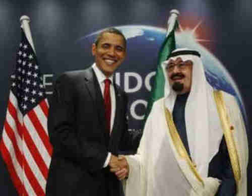 President Obama and Saudi King Abdullah in friendlier days