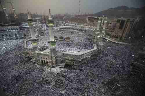 The Grand Mosque in Mecca last week (Reuters)