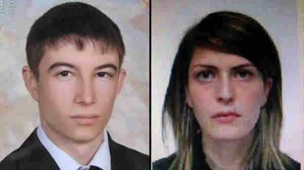 Female suicide bomber Naida Asiyalova (R), 30, and her husband Dmitry Sokolov, 22 (RT)